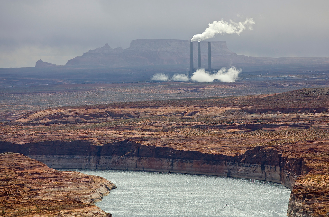 Salt River Project, Navajo Generating Station, Glen Canyon, Arizona