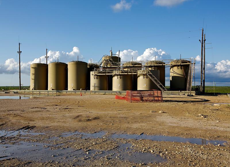 Oil.  Hwy 67, Near Barnhart, Texas