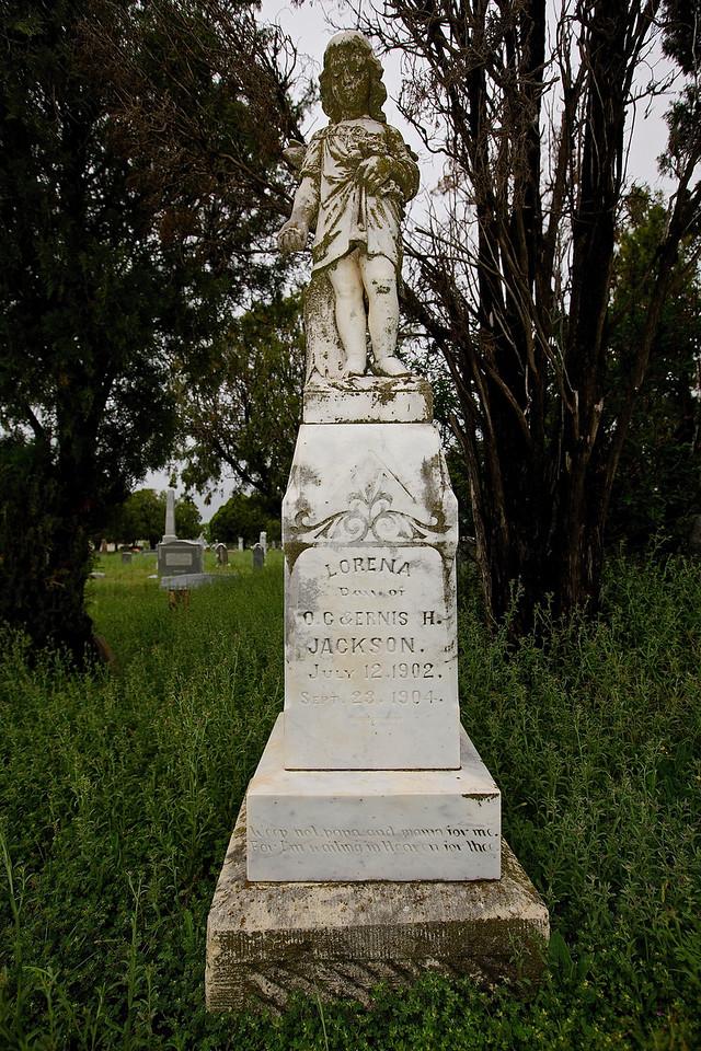 Lorena.  Voca Cemetery, Voca, Texas, Off Hwy 71