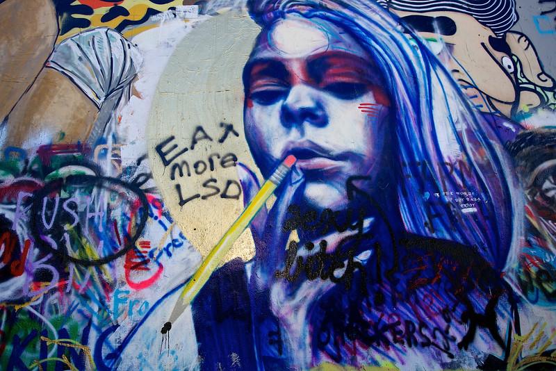Graffiti Park At Castle Hills #1.  Austin, Texas