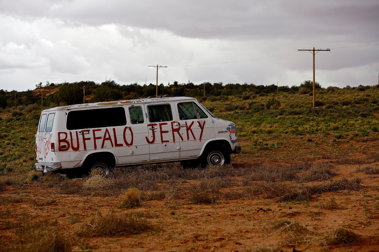 Buffalo Jerky.  Hwy 89, Near Page, Arizona