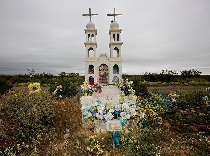Cemetery. Balmorhea, Texas