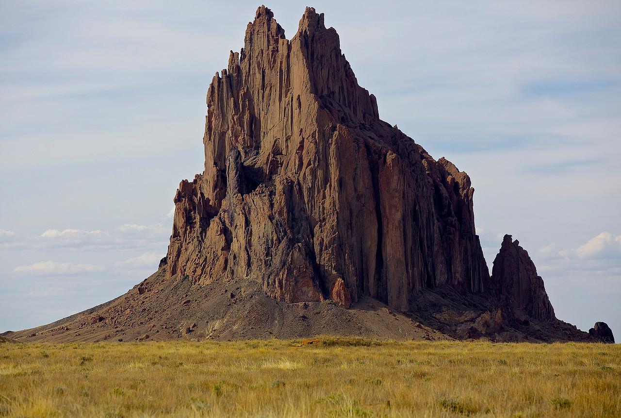 Ship Rock.  Ship Rock, New Mexico.