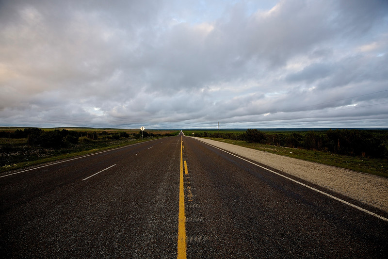 Open Road. Hwy 67, Outside Fort Stockton, Texas