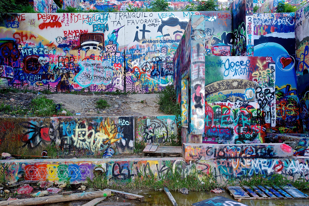 Graffiti Park At Castle Hills #2.  Austin, Texas