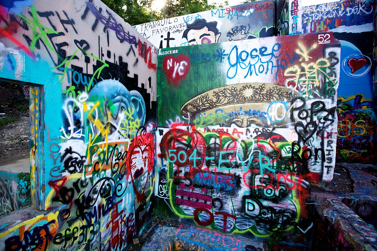 Graffiti Park At Castle Hills #5.  Austin, Texas