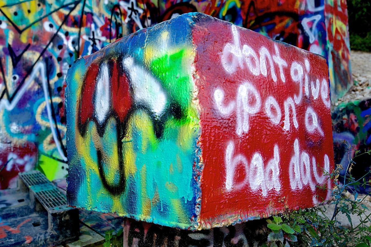 Graffiti Park At Castle Hills #8.  Austin, Texas