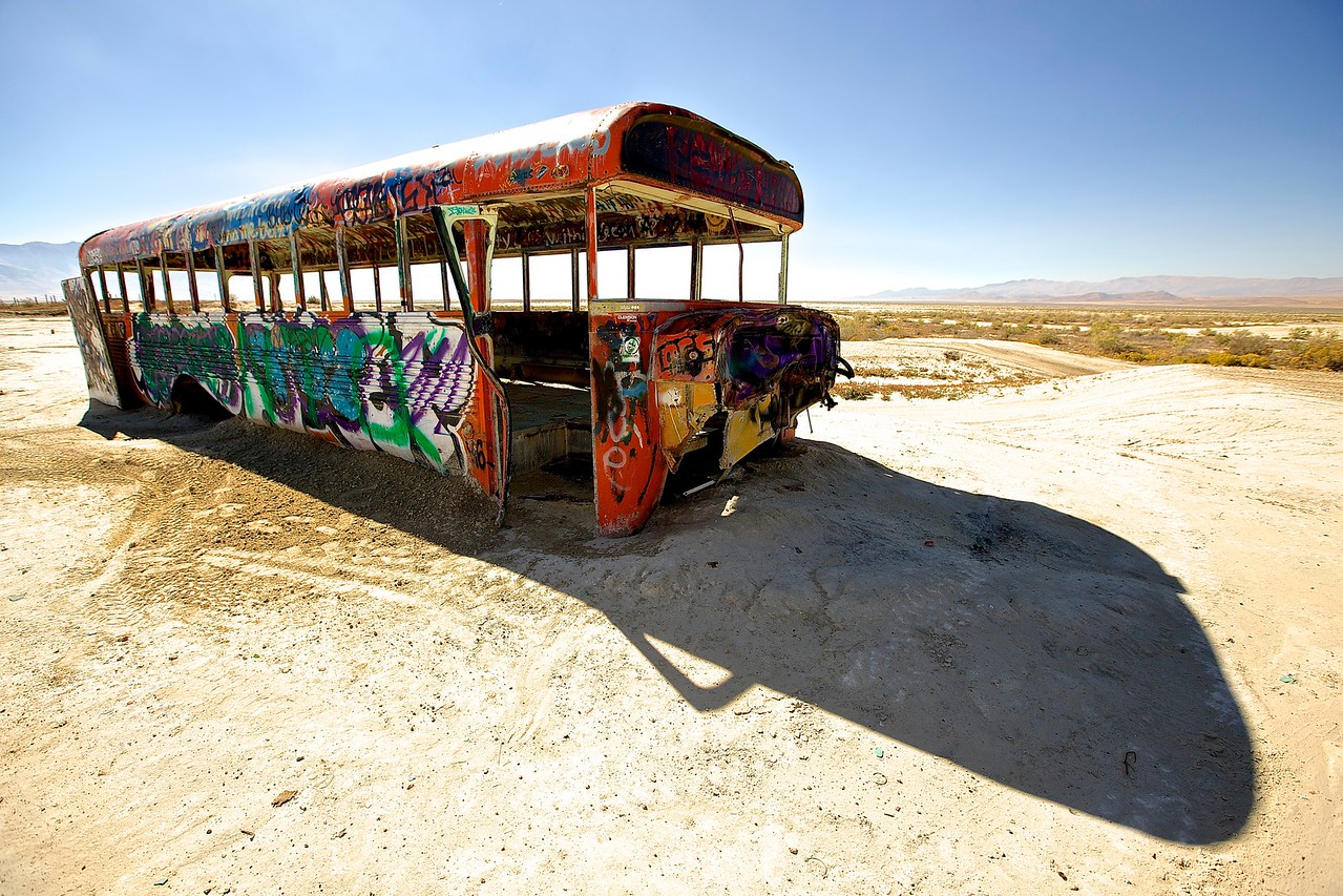 Bus No More #2. Nevada Desert