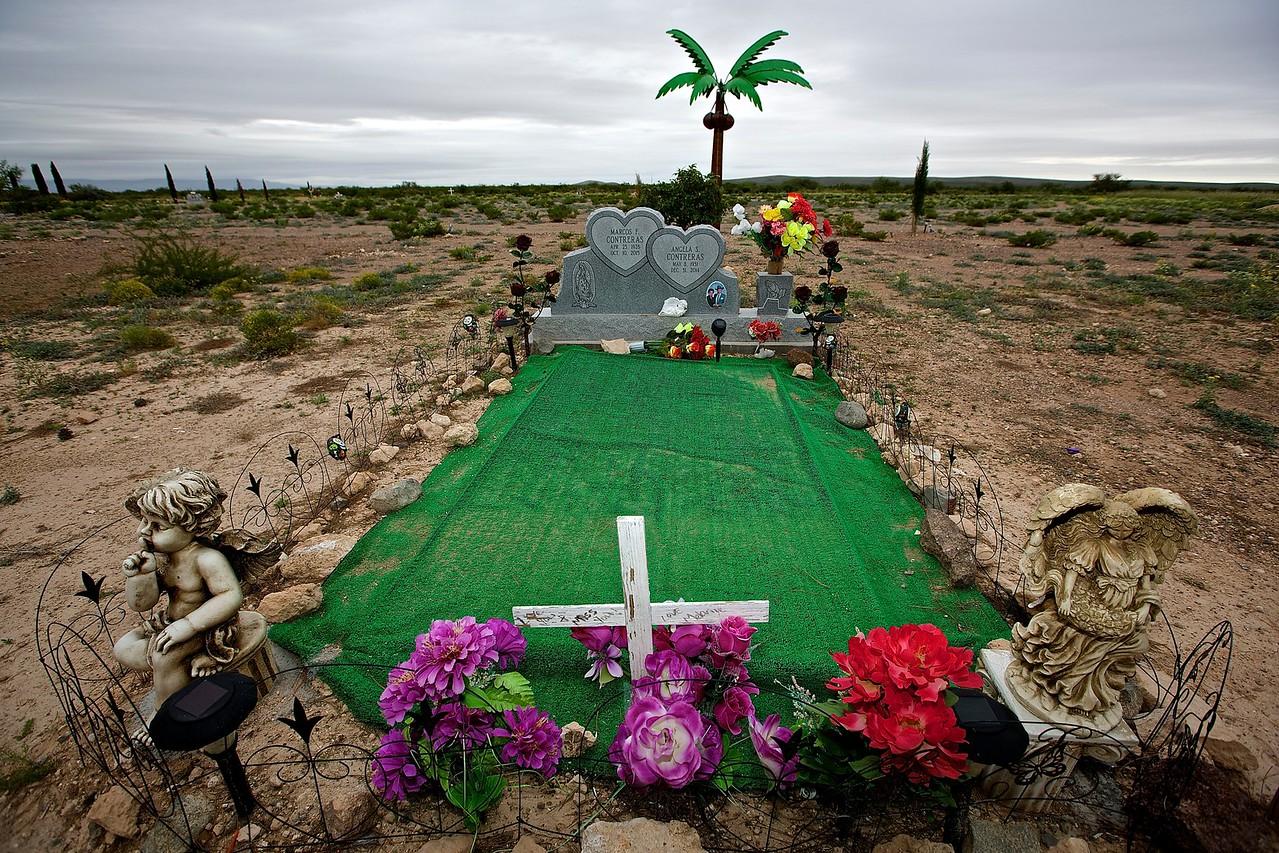 Graveyard. Balmorhea, Texas