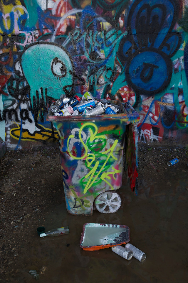 Graffiti Park At Castle Hills #4.  Austin, Texas