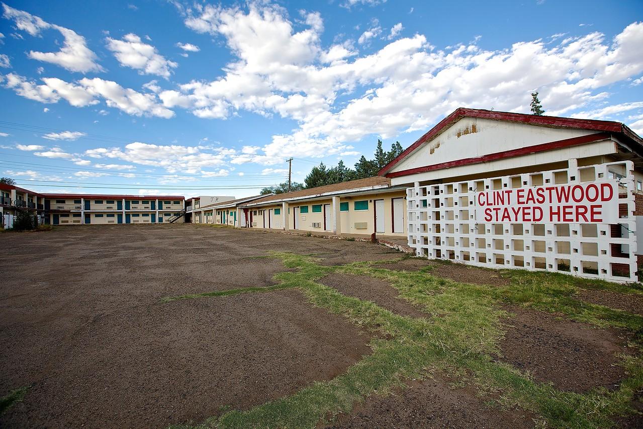 Motel. New Mexico