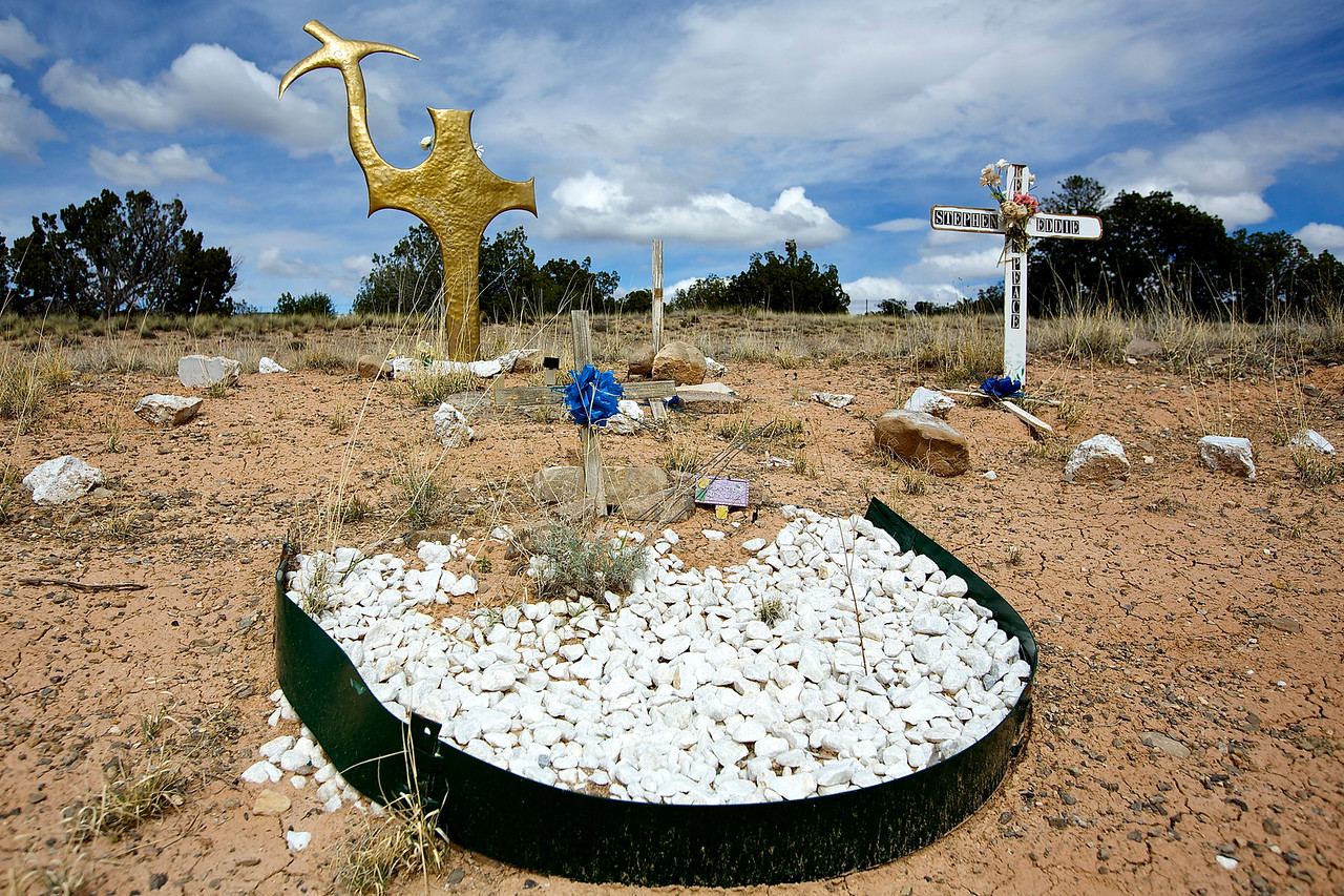 Roadside Memorial #12, Hwy  191, New Mexizo