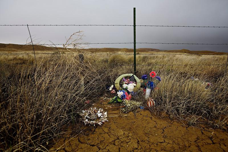 Roadside Memorial #7. Hwy 160, Near Tuba, Arizona