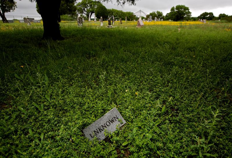 Unknown.  Voca Cemetery, Voca, Texas, Off Hwy 77