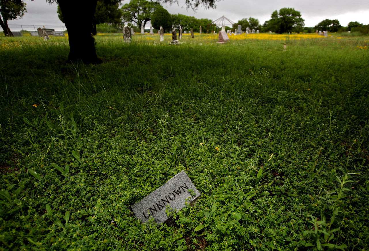 Unknown.  Voca Cemetery, Voca, Texas, Off Hwy 77