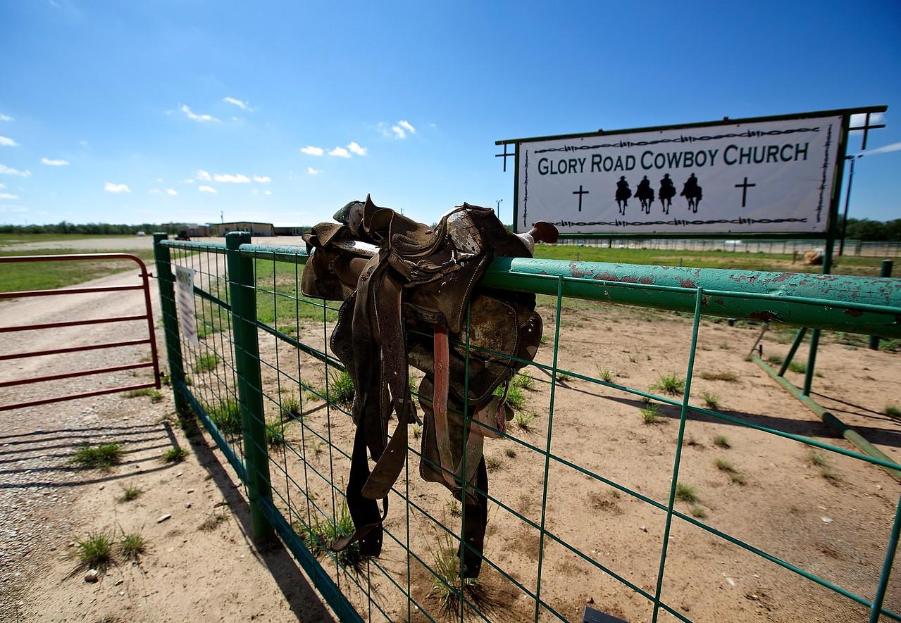 Cowboy Church, West Texas
