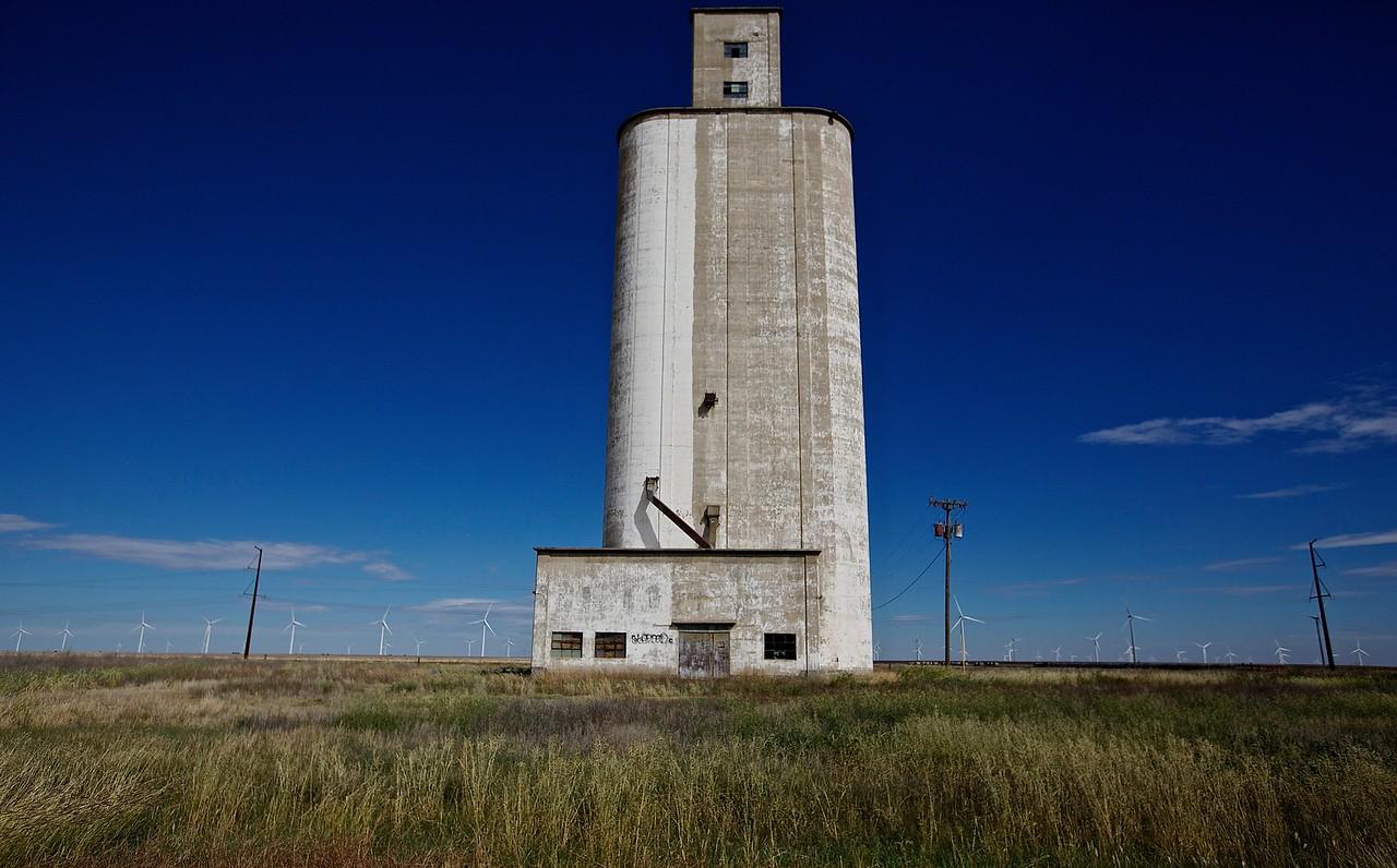 Grain Silo. West Texas