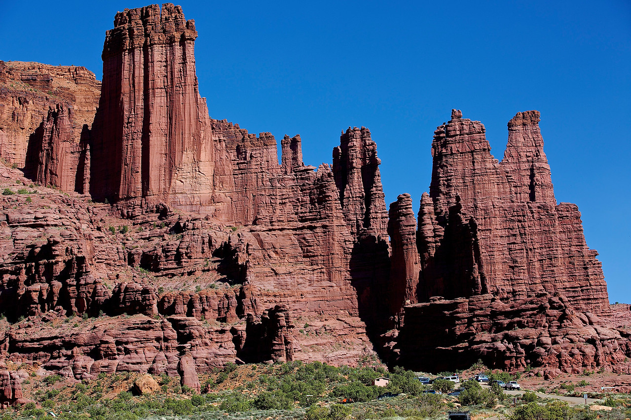 Fisher Towers, Near Moab, Hwy 128