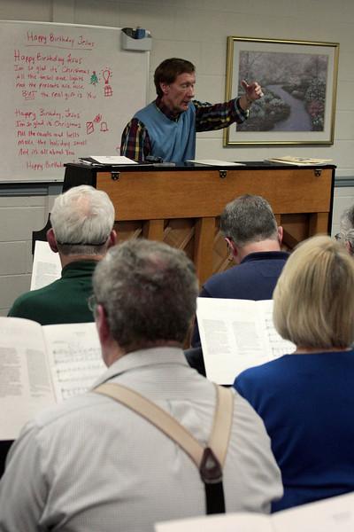 Ambler Choral rehearsal