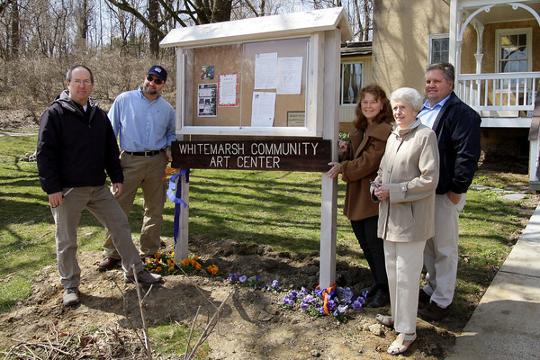 New message board for Whitemarsh Art Center