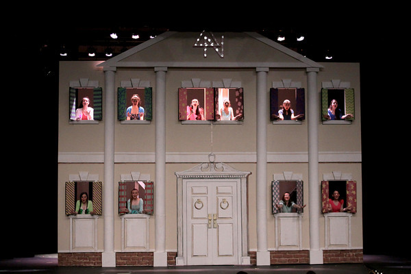 Upper Dublin HS rehearses for 'Legally Blonde'