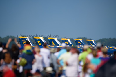 BLUE ANGELS LINED UP