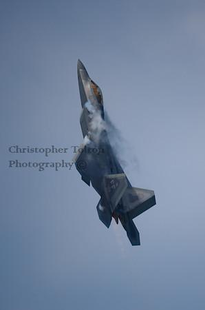 F-22 AFTERBURNER CLIMB