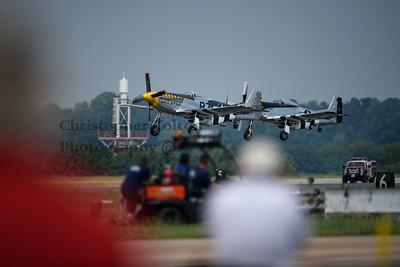 P-51 TAKE OFF