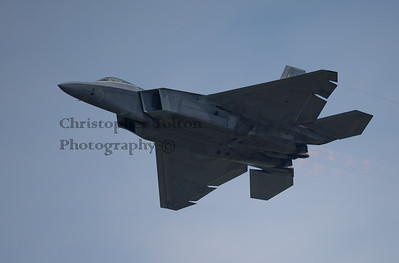 F-22 AFTERBURNER PASS