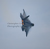 F-22 AFTERBURNER TURN