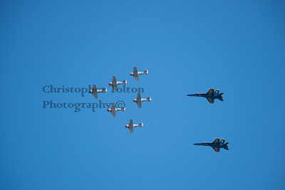 GEICO SKYTYPERS & BLUE ANGELS
