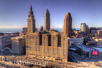 CLEVELAND FROM THE FLATS - ONE