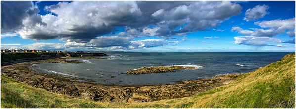 COLLYWELL BAY (FROM THE SOUTH) PANORAMA -  i-PHONE SE