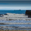 ROKER BEACH - SURFER BY THE PIER