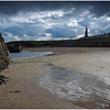 CULLERCOATS BAY & SPIRE OF ST. GEORGES