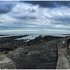 BROWNS POINT & CULLERCOATS BAY FROM THE R.N.L.I. STATION