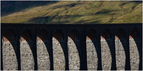RIBBLEHEAD VIADUCT ARCHES - AN ABSTRACT VIEW