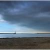 ROKER BEACH - BLUE SKIES OUT AT SEA #1