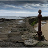 CULLERCOATS BAY, PIER AND POST