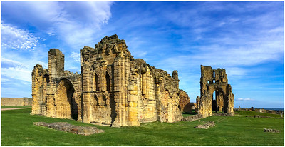 AUTUMN AT TYNEMOUTH CASTLE AND ABBEY #2