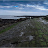 CULLERCOATS PIER, SEA SIDE - SLIPPERY WHEN WET!