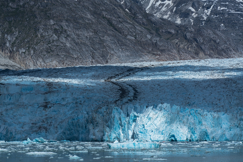 Spotlight on Dawes Glacier, Alaska