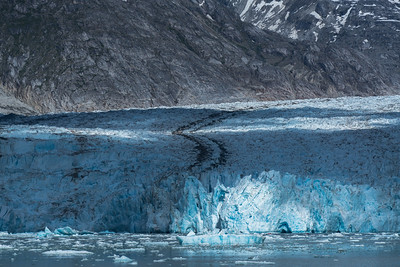 Spotlight on Dawes Glacier, Alaska