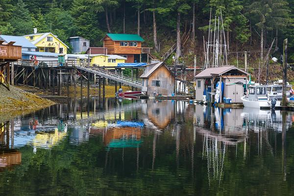 Picturesque Elfin Cove