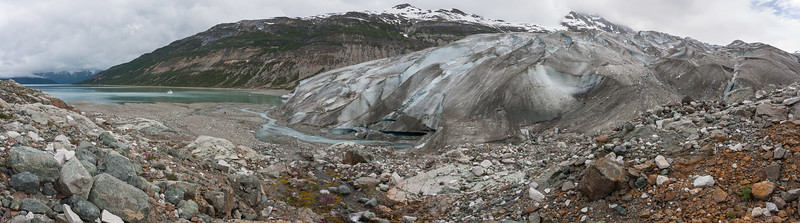 Reid Glacier and Inlet Panorama