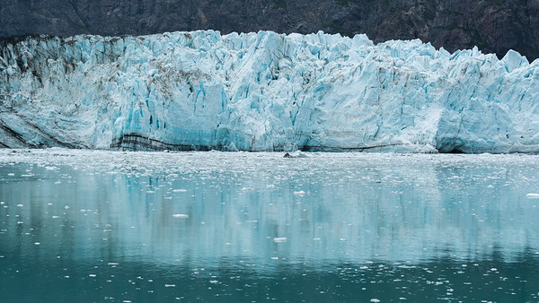 Margerie Glacier Reflected.