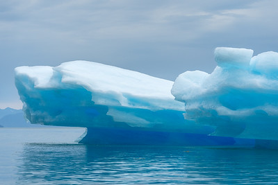 Large Blue Iceberg.