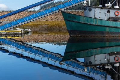 Abstract Marina Reflections