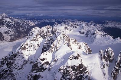 Aerial of Denali Range