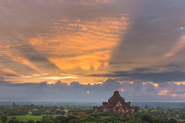 Dawn over Bagan Plains